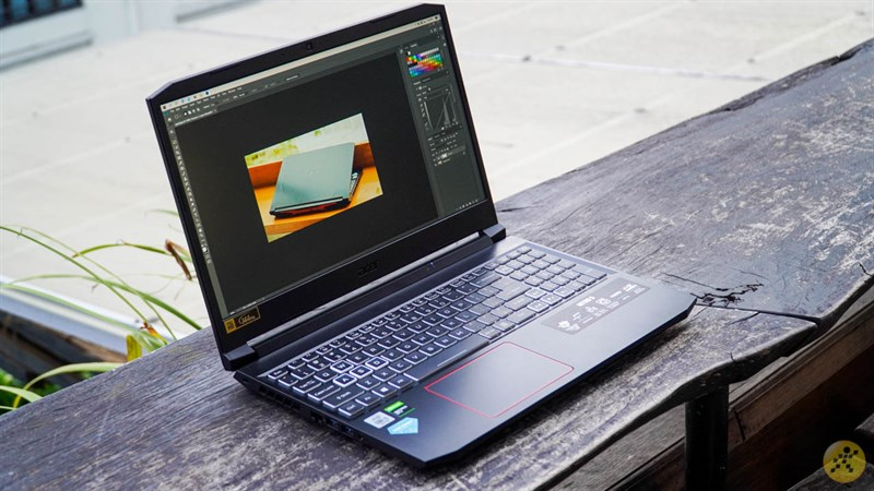 Overall design of the Acer Nitro 5