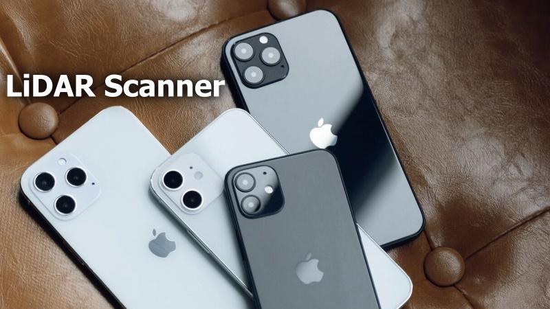 iPhone 12 Pro và iPhone 12 Pro Max đều được trang bị máy quét LiDAR mới