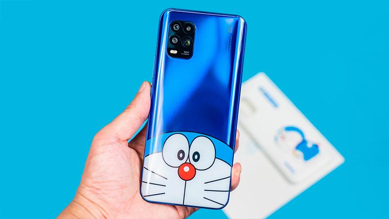 Đập hộp Xiaomi Mi 10 Youth Doraemon Limited Edition