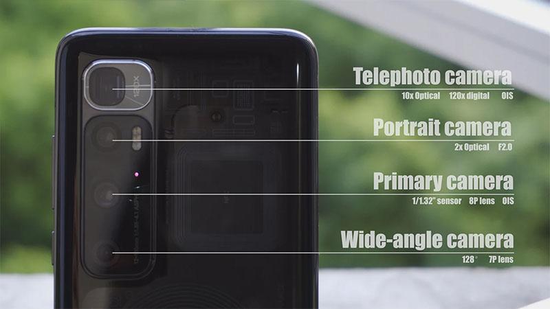 Thông số camera của Xiaomi Mi 10 Ultra