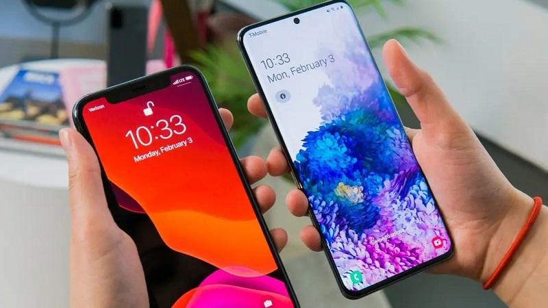 Samsung và Apple đại diện flasghip tại Việt Nam