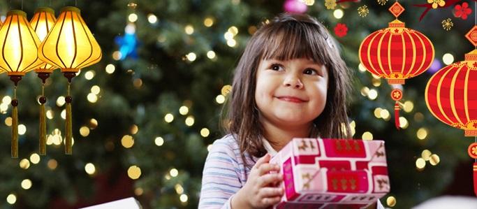 Tặng quà Trung thu cho trẻ