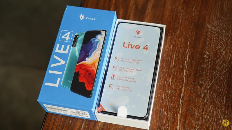 Đánh giá Vsmart Live 4