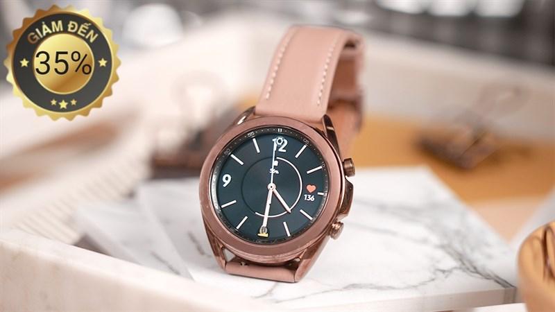 Samsung Galaxy Watch giảm sốc đến 35% khi mua kèm điện thoại của hãng từ 4 triệu