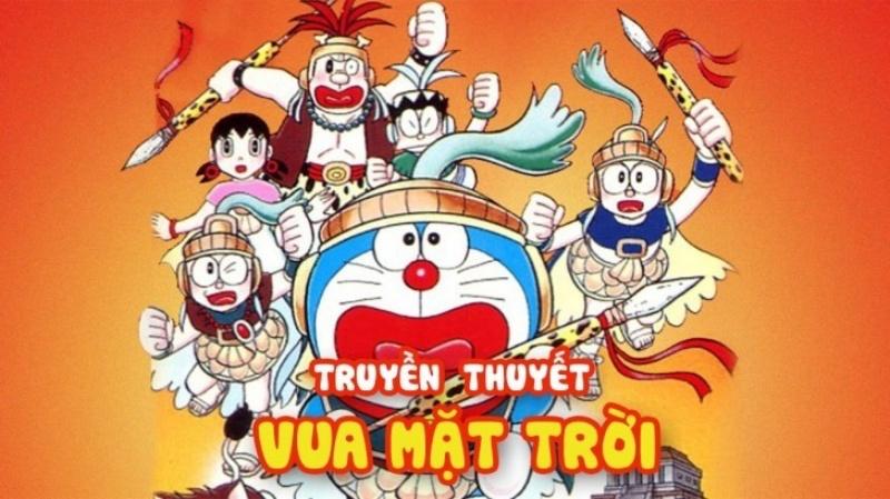 Nobita và truyền thuyết vua mặt trời