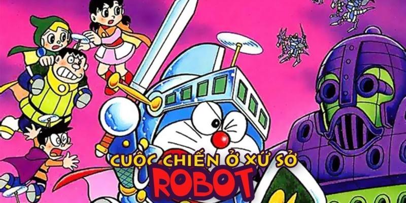 Nobita và vương quốc robot