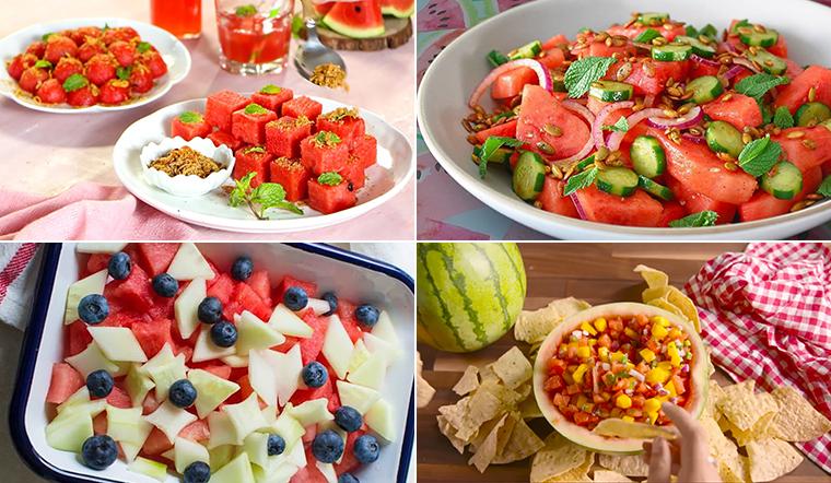 5 cách làm salad dưa hấu ngon miệng mà lại dễ thực hiện