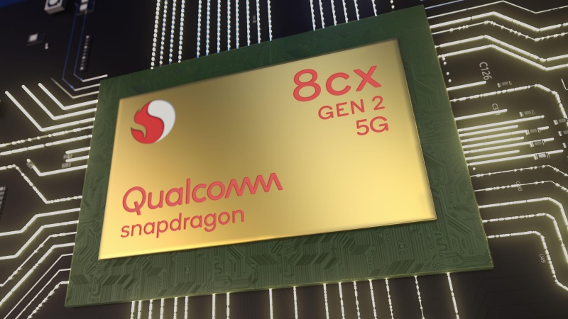 Qualcomm công bố bộ vi xử lý Snapdragon 8cx 2 5G cho laptop