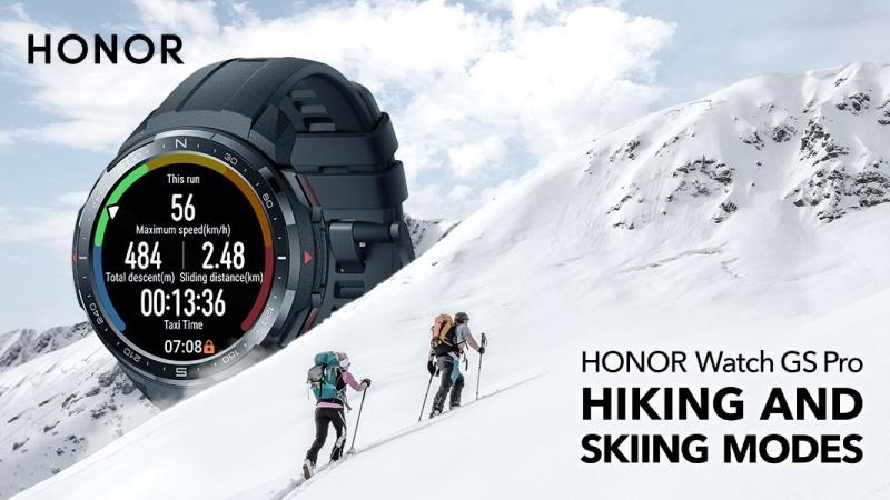 Honor ra mắt Honor Watch GS Pro và ES với thời lượng pin kéo dài nhiều ngày