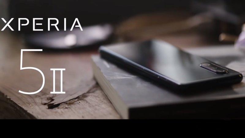 Video quảng cáo Sony Xperia 5 II bị rò rỉ, tiết lộ chi tiết cấu hình