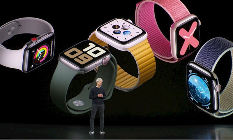 Sự kiện ra mắt Apple Watch Series 5 - Ảnh: IndiaToday