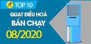 Top 10 quạt điều hòa bán chạy nhất tháng 8/2020 tại Điện máy XANH