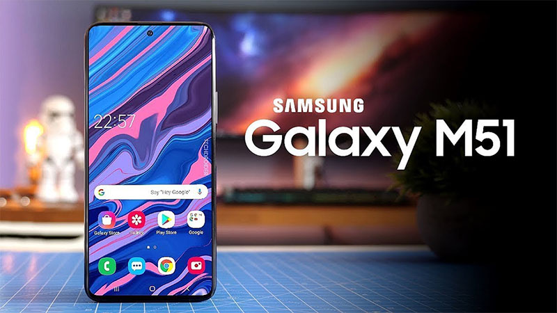 Thiết kế của Samsung Galaxy M51