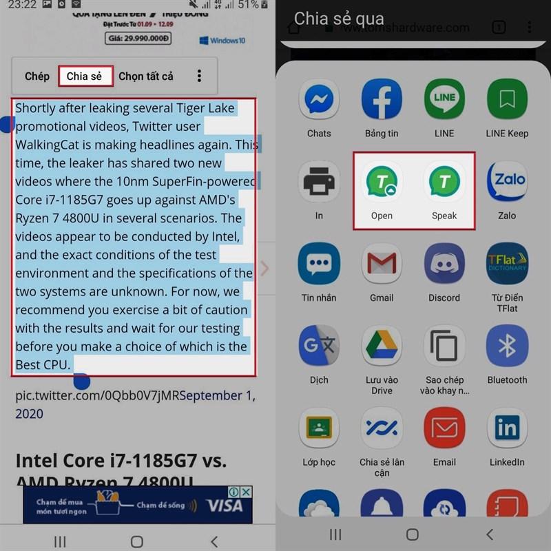 Hãy để trang web biết nói cho bạn nghe với ứng dụng T2S: Text to Voice