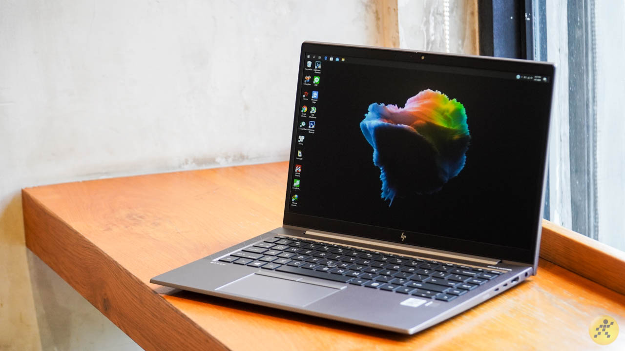 Màn hình hiển thị của HP ZBook 14 G7