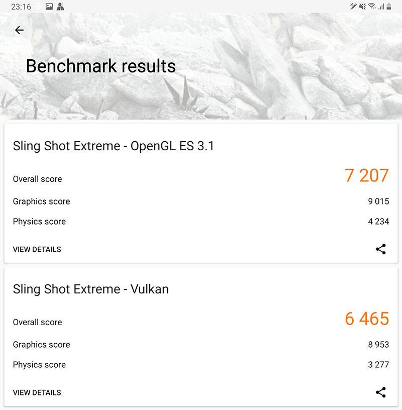 benchmark galaxy tab s7