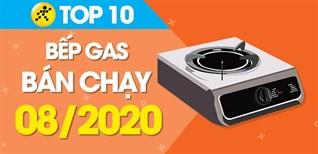 Top 10 bếp gas bán chạy nhất tháng 8/2020 tại Điện máy XANH