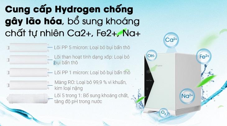 Tạo nước Hydrogen chống oxy hóa