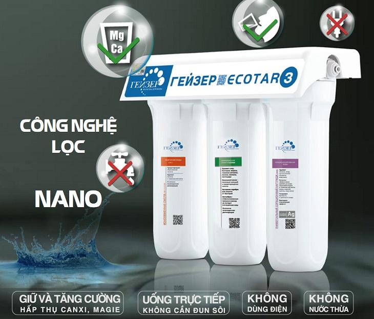 Công nghệ lọc Nano