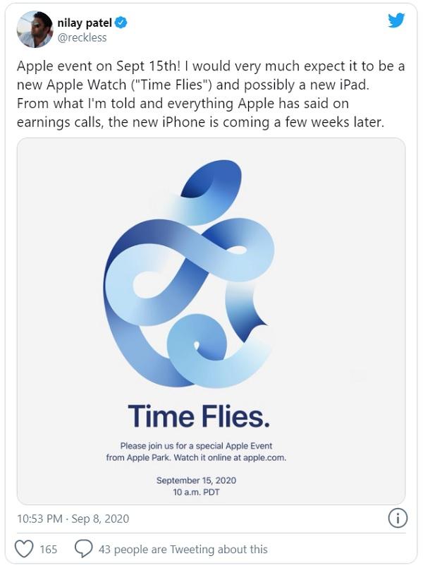 Apple chính thức công bố sự kiện ra mắt