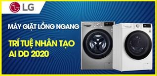 Tổng quan về dòng máy giặt tích hợp tích hợp trí tuệ nhân tạo AI DD của LG 2020