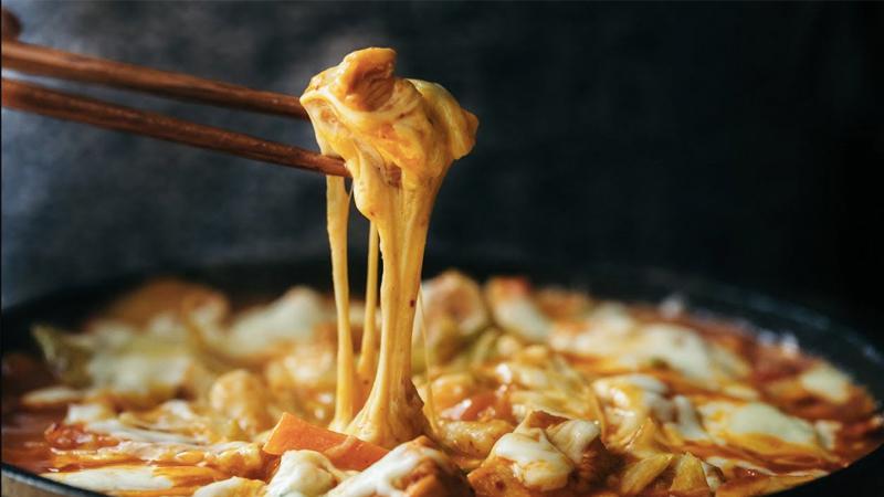 Gà nướng phô mai Hàn Quốc