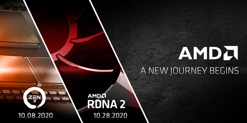 AMD and a groundbreaking October with the release of two Ryzen Zen 3 processors and RDNA2-based graphics cards