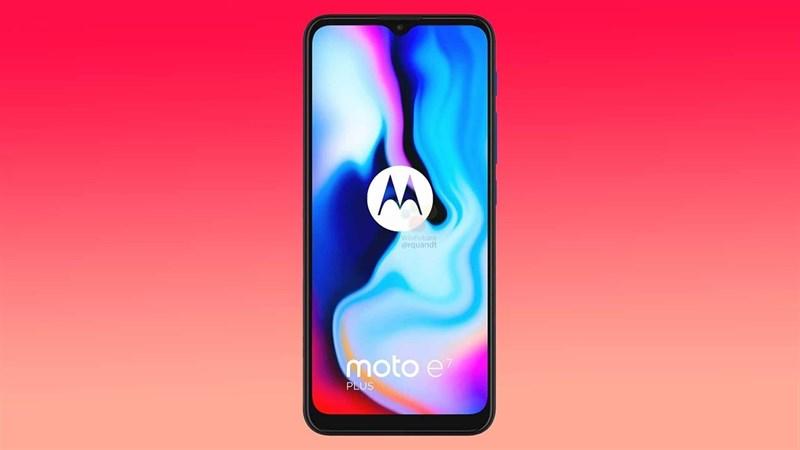 Rò rỉ hình ảnh sắc nét, thông số kỹ thuật đầy đủ cùng giá bán phải chăng của smartphone Moto E7 Plus