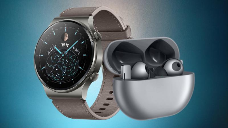 Huawei ra mắt tai nghe FreeBuds Pro và đồng hồ Huawei Watch GT2 Pro