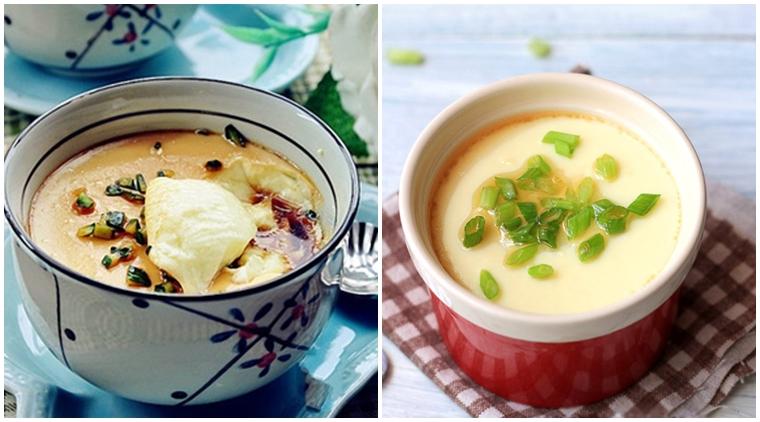 Cách làm trứng hấp nước tương ăn sáng, nhanh gọn lại nhẹ bụng