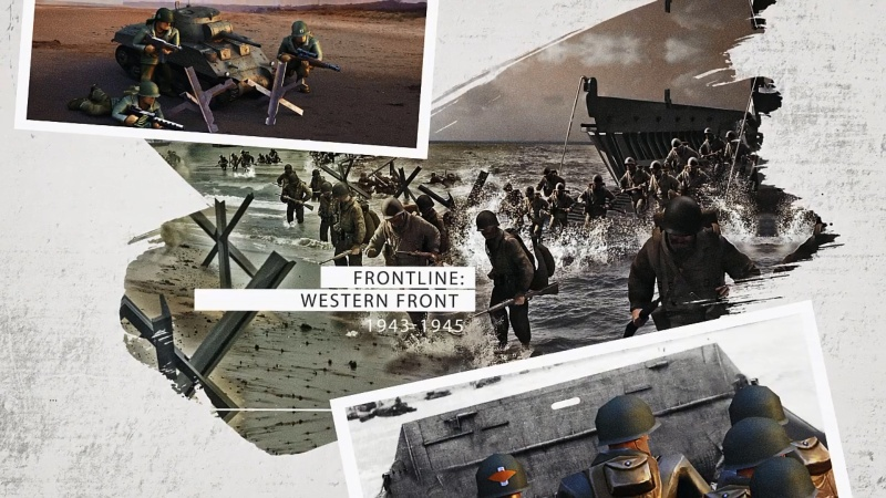 Hình ảnh trong Frontline: Western Front - WW2 Strategy War Game