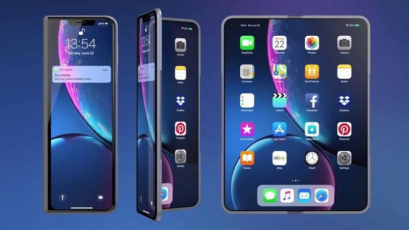 Apple đang chuẩn bị ra mắt smartphone màn hình gập?