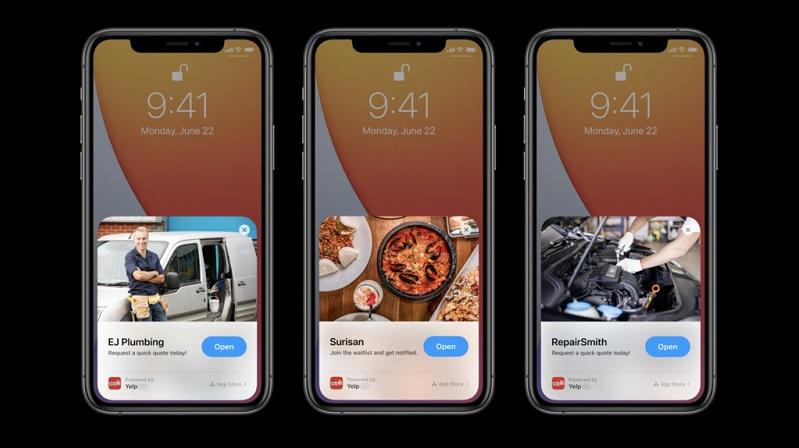 App Clip sẽ không có quảng cáo đi kèm