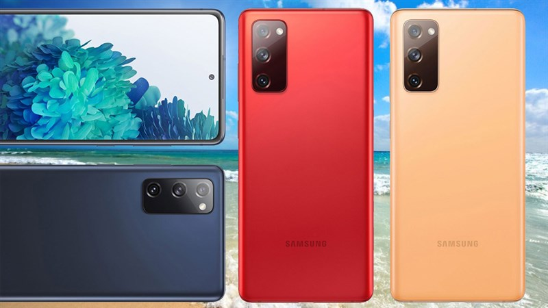 Samsung Galaxy S20 Fan Edition lộ thiết kế tổng thể qua hình ảnh xoay 360 độ, có 3 màu sắc trẻ trung, cuốn hút