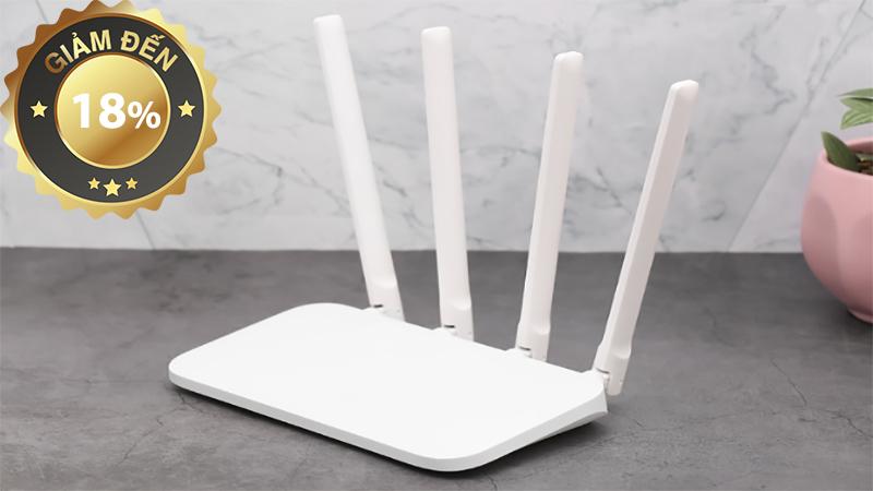 Router Wifi Chuẩn AC1200 Xiaomi 4A Trắng