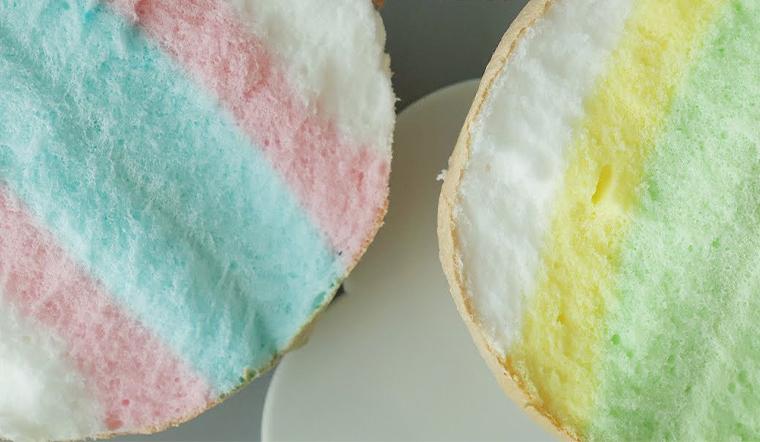 Cách làm bánh mì đám mây ngũ sắc ngộ nghĩnh siêu đáng yêu