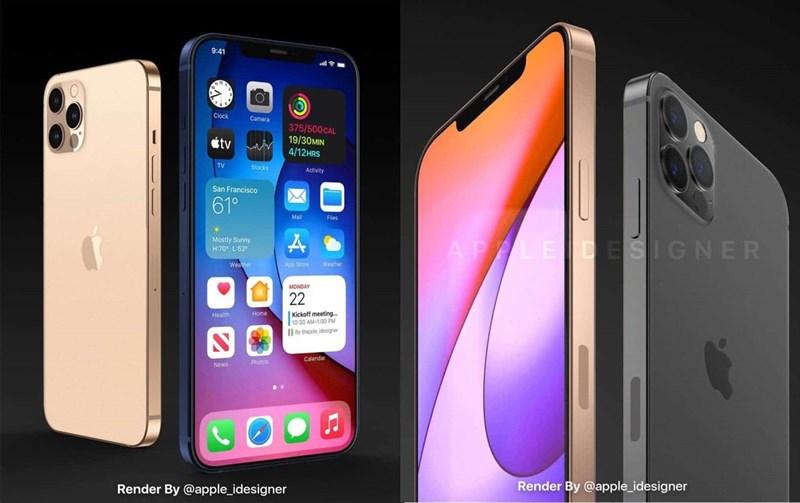 iPhone 12 Pro lộ diện ấn tượng qua bộ ảnh render mới: Thiết kế mạnh mẽ, màn hình tràn cạnh cuốn hút người nhìn