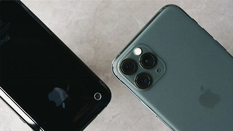 Thiết kế camera của iPhone 3GS vs iPhone 11 Pro