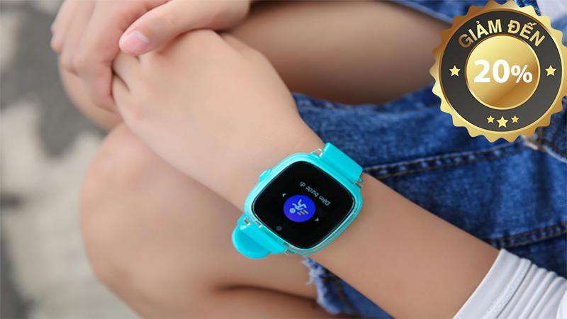 Đồng hồ thông minh trẻ em Oaxis MyFirst Fone D2 Xanh