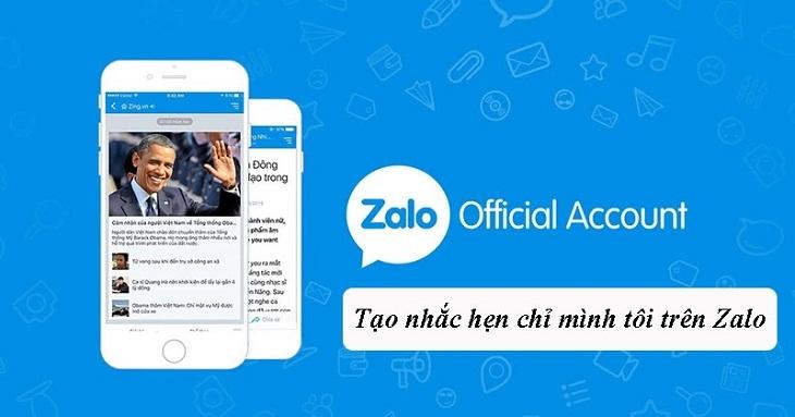 Hướng dẫn đặt nhắc hẹn chỉ mình tôi trên Zalo, tránh làm phiền người khác