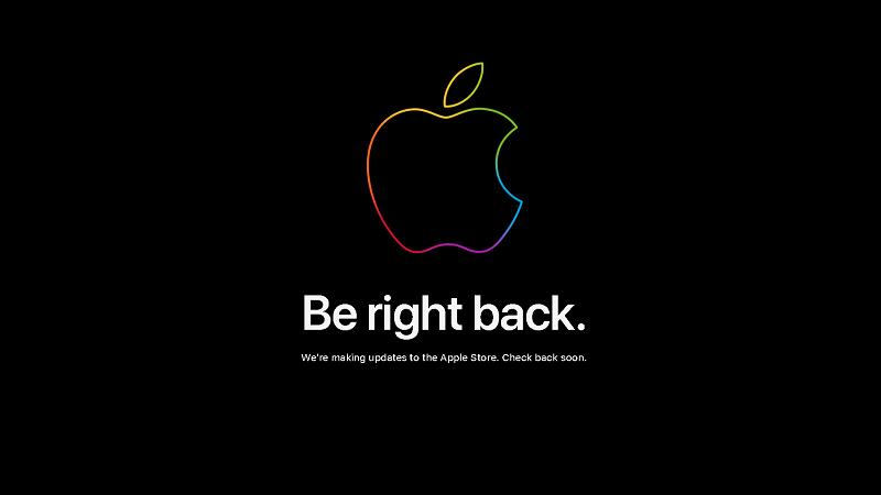 Apple bảo trì cửa hàng trực tuyến