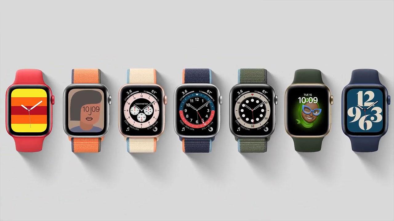 Apple Watch S6 cho phép bạn custom giao diện người dùng một cách dễ dàng