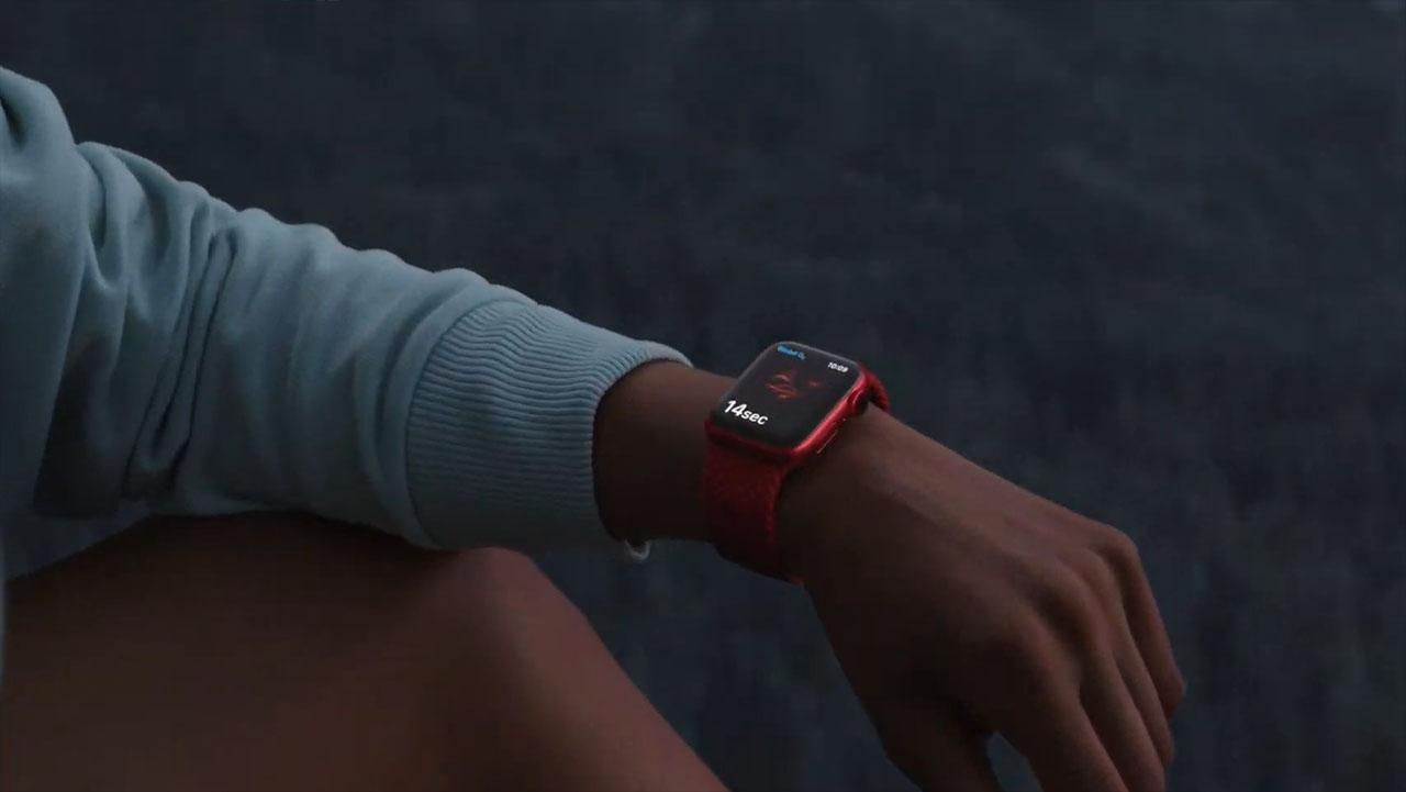 Thiết kế tổng thể của Apple Watch S6