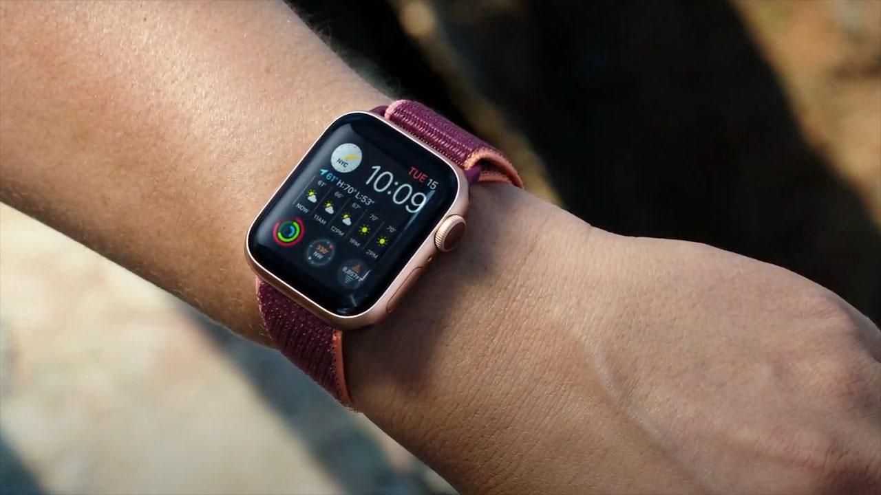 Thiết kế màn hình của Apple Watch S6