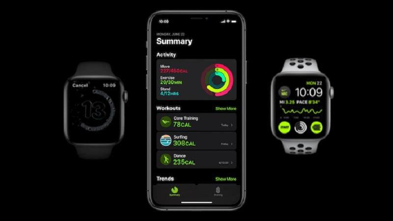 apple watch series 6, iphone 12 ra mắt, dịch vụ sức khoẻ của apple, thông số iphone 12, ipad air mới