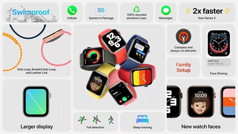 Tất cả những tính năng hấp dẫn trên Apple Watch SE