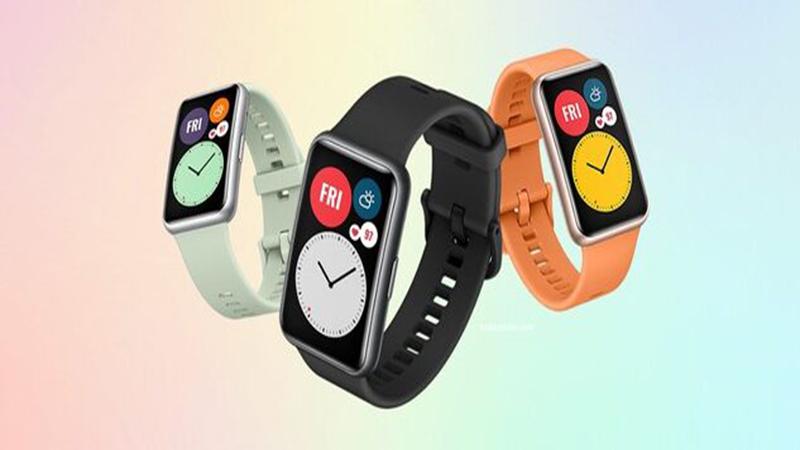 Huawei Watch Fit công bố giá và chuẩn bị mở bán