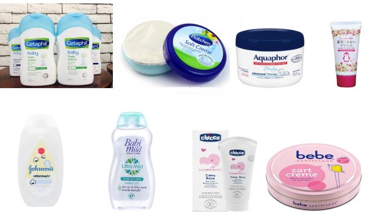 10 loại kem dưỡng ẩm dành cho trẻ sơ sinh được các chuyên gia tin dùng