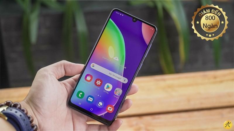 Mua Samsung Galaxy A31 ngay hôm nay tại Thế Giới Di Động nhận ưu đãi không thể ngờ