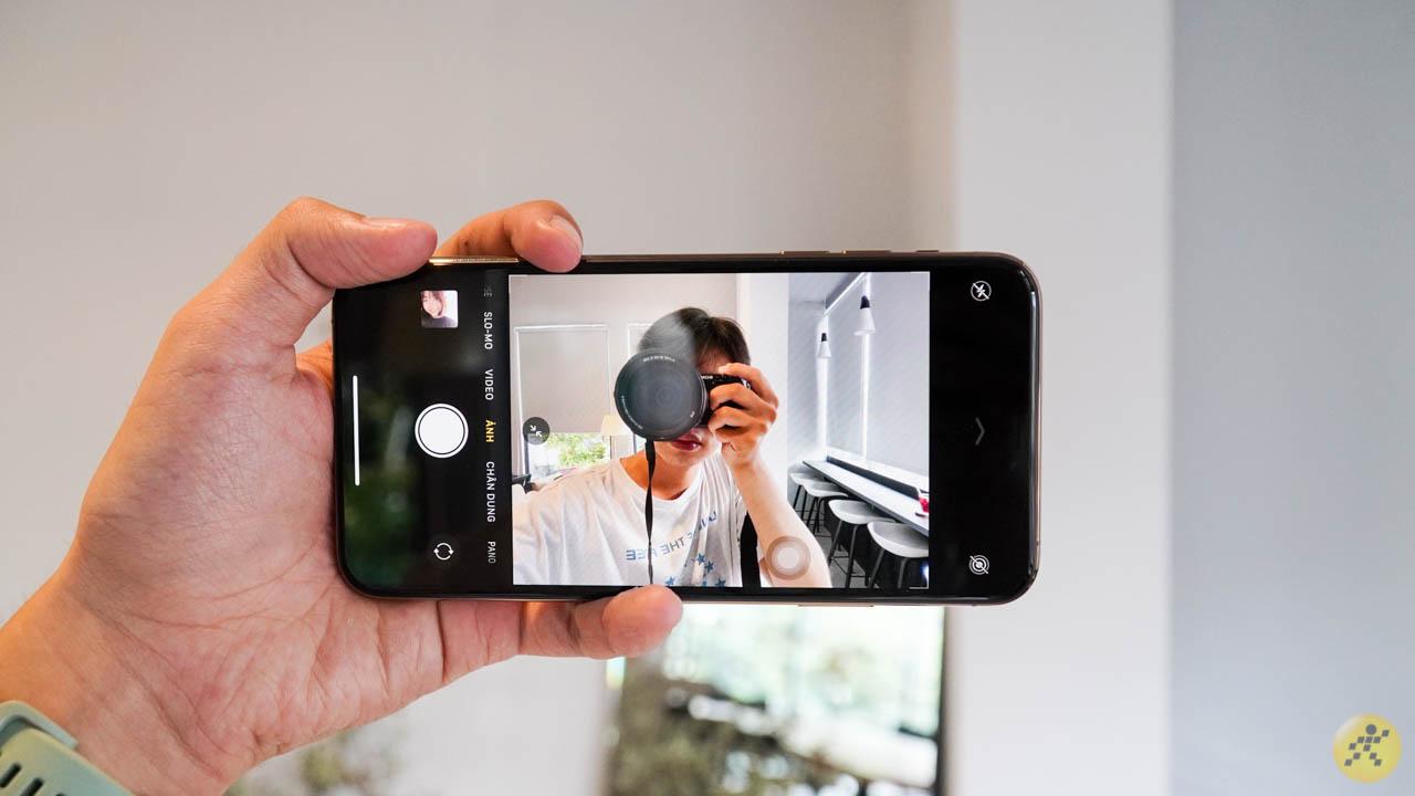 Giao diện camera được đổi mới khi update lên iOS 14